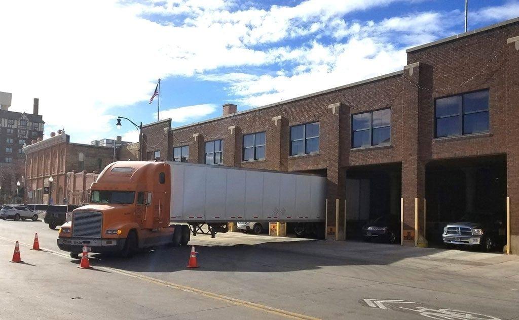 Northwestern Warehouse Truck