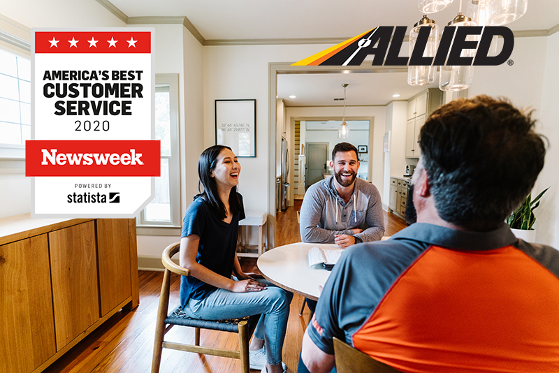 Allied Van Lines Recognized by Newsweek as One of America's Best Customer Service Providers