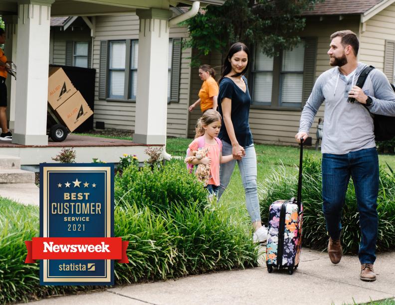 Newsweek Best Customer Service Award 2021 for Moving Companies