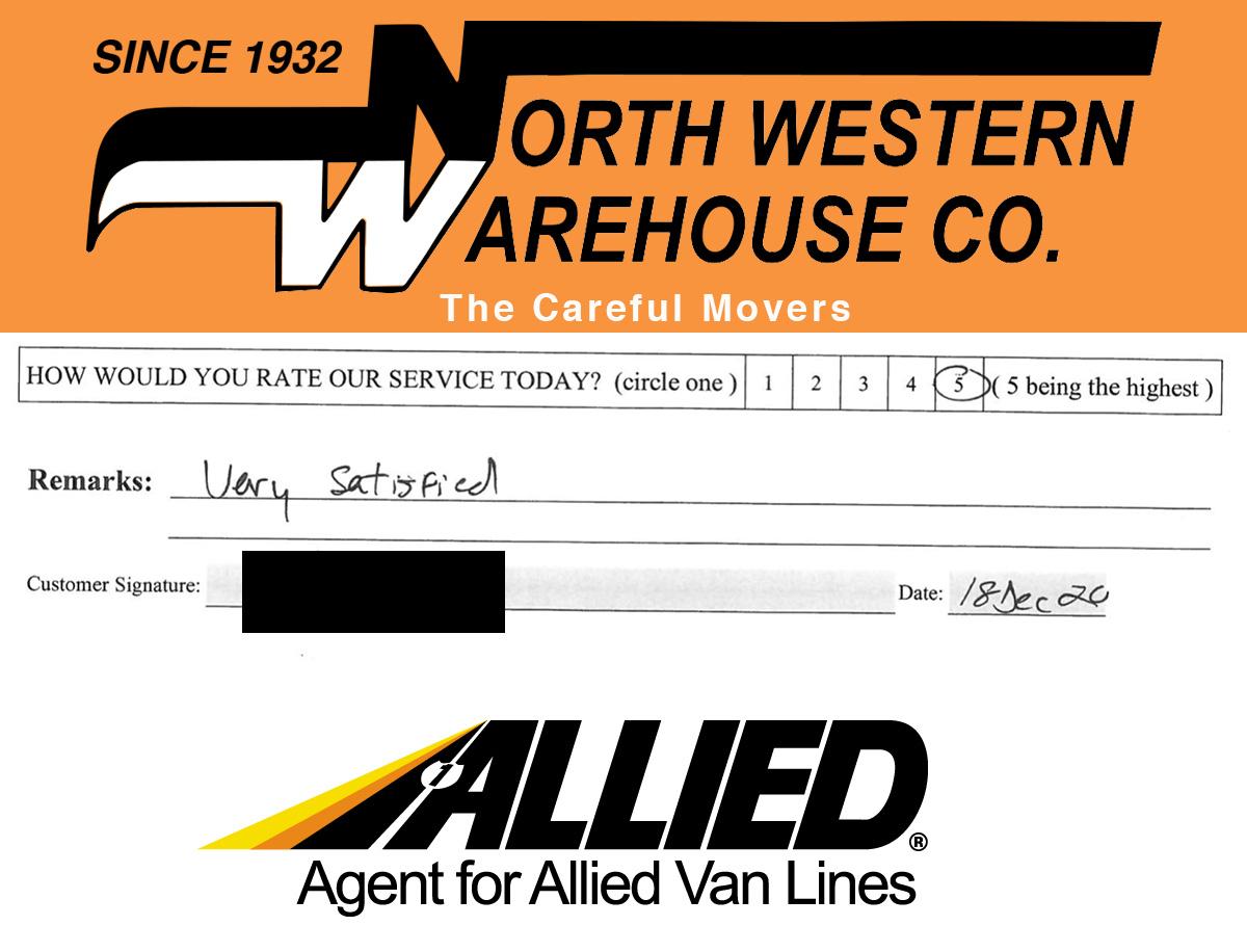 Moving Customer Testimonial