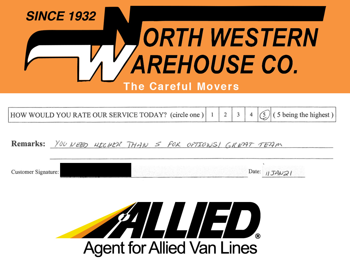 Happy Moving Customer Testimonial