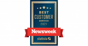 Newsweek Best Customer Service Award 2021 for Moving Companies
