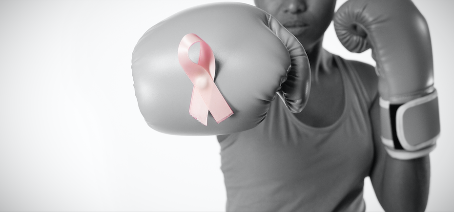 women fight against cancer