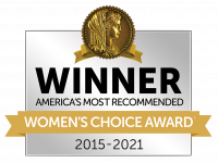 Winner of America's Most Recommended Moving Company by Women's Choice Award 2015-2021